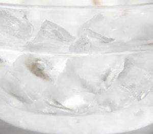 ビクラムヨガ 冷たい水