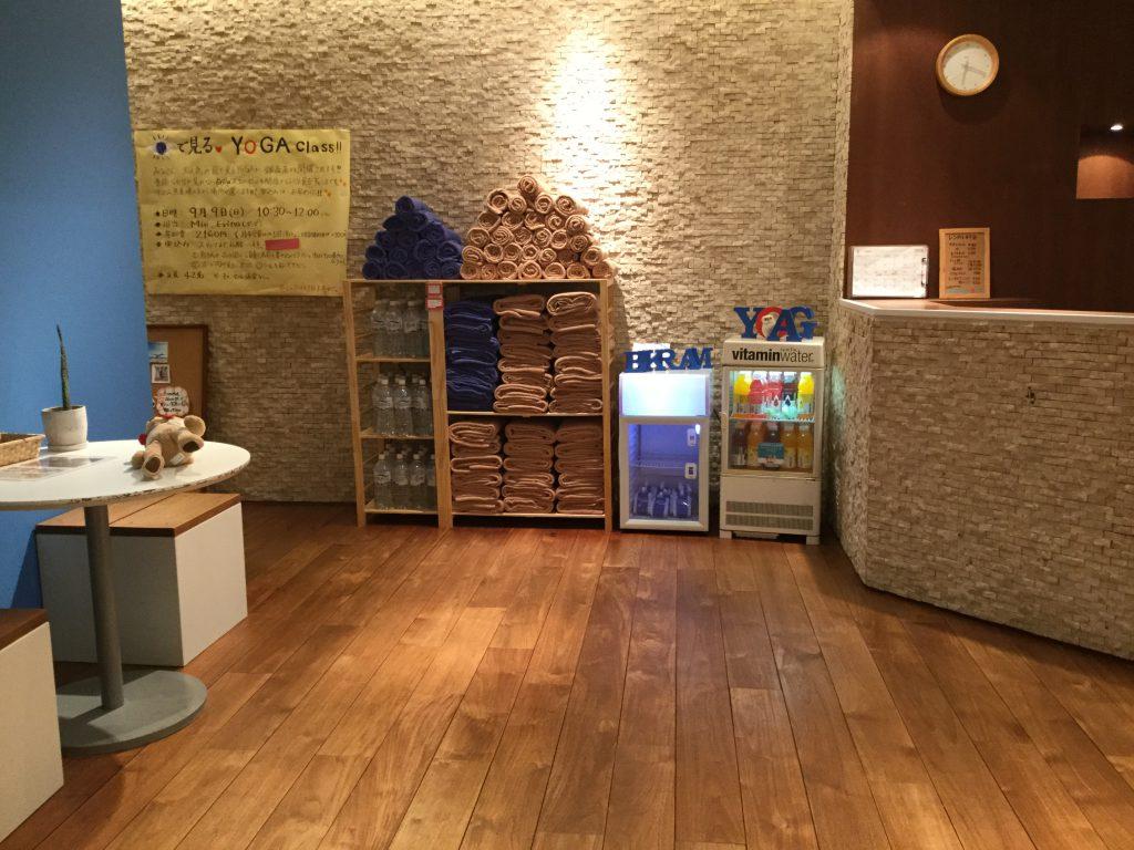 ビクラムヨガ銀座 スタジオ