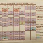 bikramyoga ginza schedule